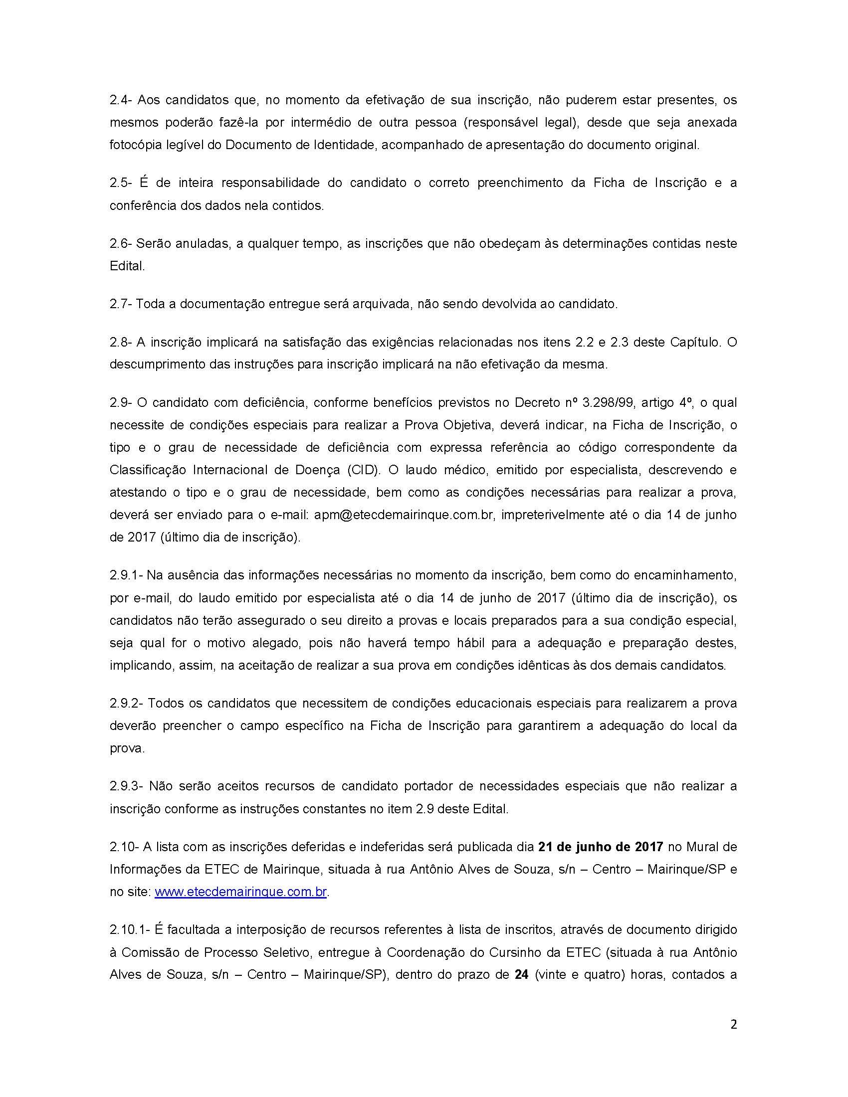 Edital Cursinho da ETEC de Mk (INTENSIVO)_Página_2