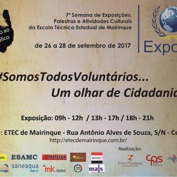 Expotec 2017 – #SomosTodosVoluntários
