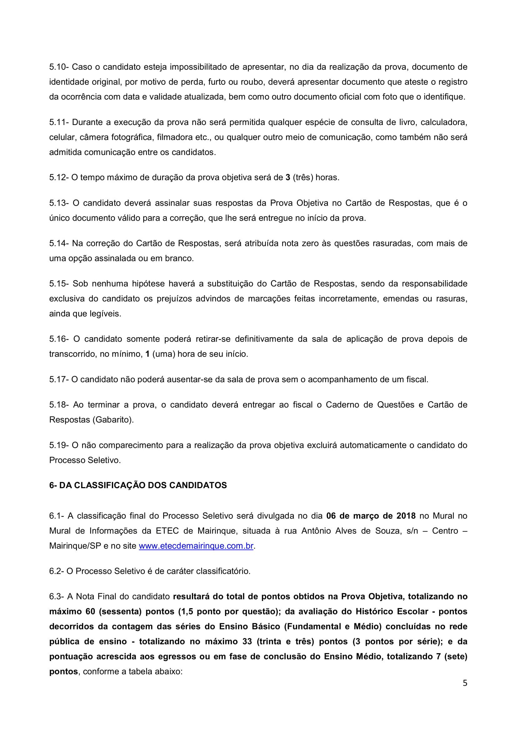 Edital Cursinho MK 2018-5