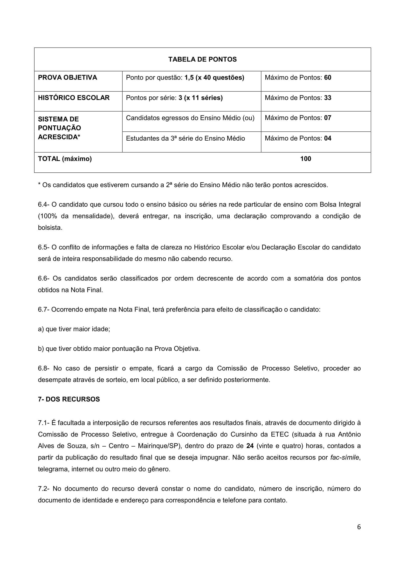 Edital Cursinho MK 2018-6